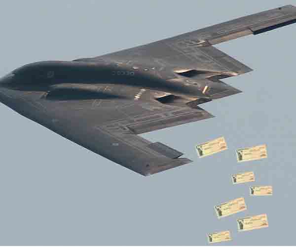 Biden administration unveils stimulus check carpet bombing delivery platform
