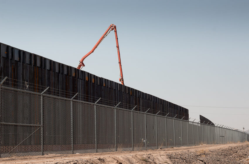 White House redirects all border wall contractors to build wall around Washington, D.C.
